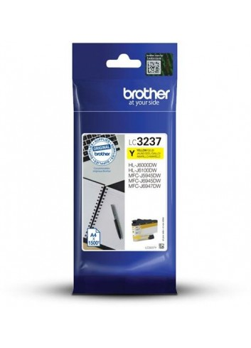 Brother originál ink LC-3237Y, yellow, 1500str., Brother MFC-J5945DW, MFC-J6945DW, MFC-J6947DW