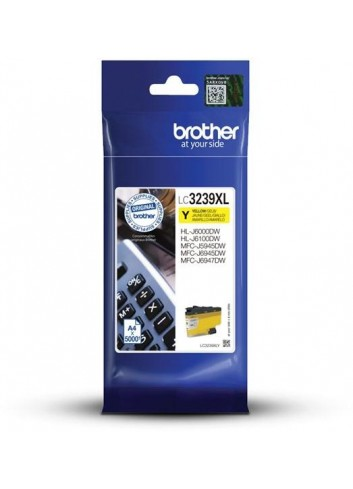 Brother originál ink LC-3239XLY, yellow, 5000str., Brother MFC-J5945DW, MFC-J6945DW, MFC-J6947DW