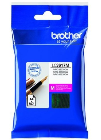 Brother originál ink LC-3617M, magenta, 550str., Brother MFCJ2330, 3530, 3930
