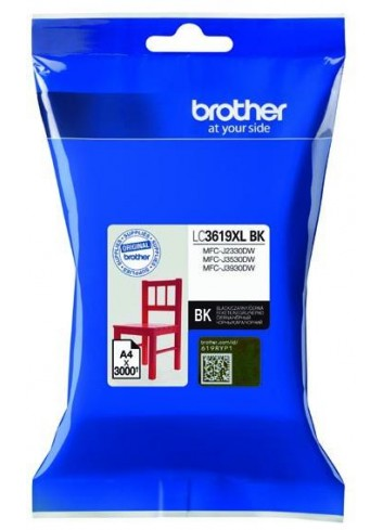 Brother originál ink LC-3619XLBK, black, 3000str., 60ml, Brother MFCJ2330, 3530, 3930