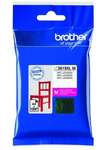 Brother originál ink LC-3619XLM, magenta, 1500str., Brother MFCJ2330, 3530, 3930