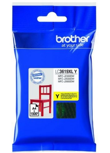 Brother originál ink LC-3619XLY, yellow, 1500str., Brother MFCJ2330, 3530, 3930