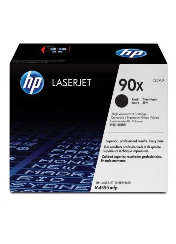 HP originál toner CE390X, black, 24000str., HP 90X, HP Enterprise M4555, M602