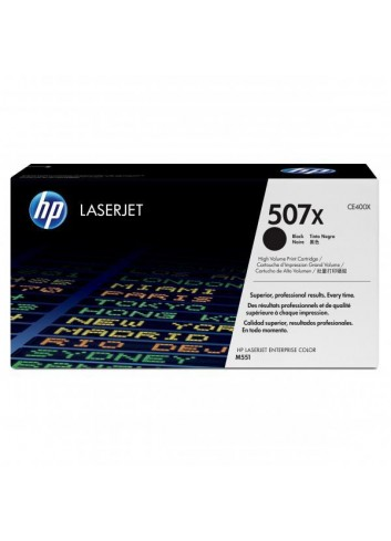 HP originál toner CE400X, black, 11000str., HP 507X, HP LaserJet Enterprise 500 color M551