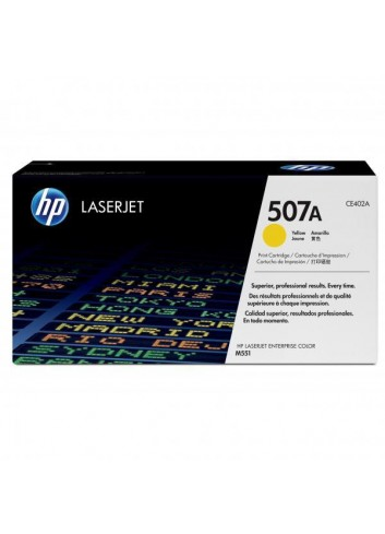 HP originál toner CE402A, yellow, 6000str., HP 507A, HP LaserJet Enterprise 500 color M551