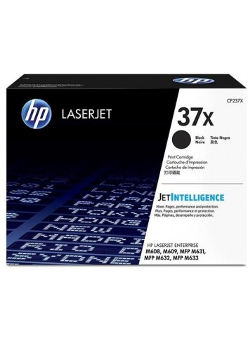 HP originál toner CF237X, black, 25000str., HP 37X, high capacity, HP LaserJet Enterprise M608, M609