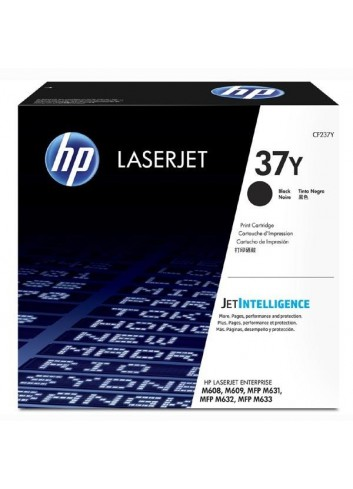 HP originál toner CF237Y, black, 41000str., HP 37Y, extra high capacity, HP Laserjet Enterprise Flow M631, 632, M608, M609,631
