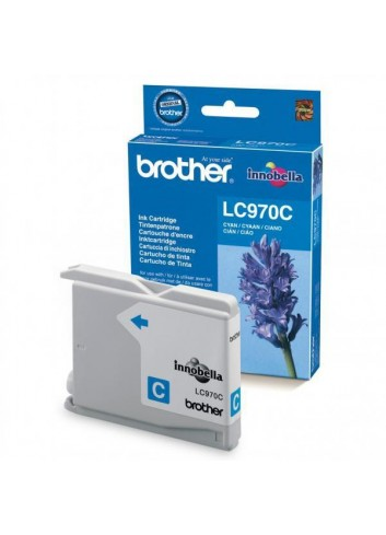 Brother originál ink LC-970C, cyan, 300str., Brother DCP-135C, 150C, MFC-235C, 260C
