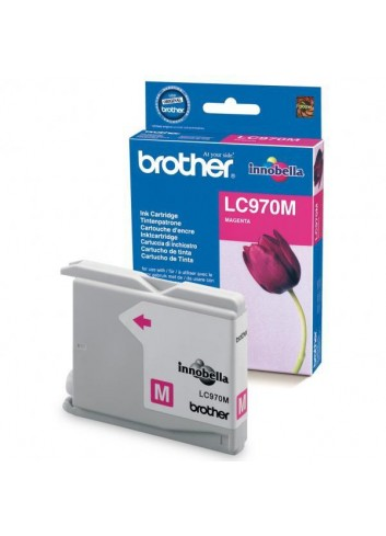 Brother originál ink LC-970M, magenta, 300str., Brother DCP-135C, 150C, MFC-235C, 260C