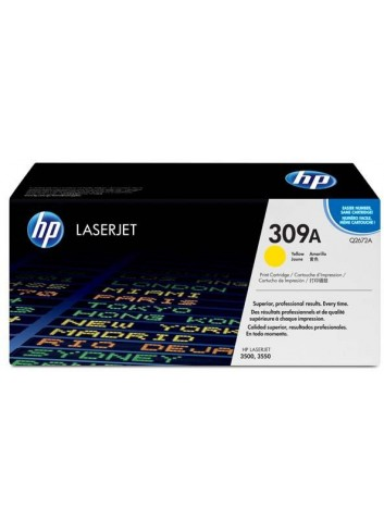 HP originál toner Q2672A, yellow, 4000str., HP 309A, HP Color LaserJet 3500, N, 3550, N, DN, DTN