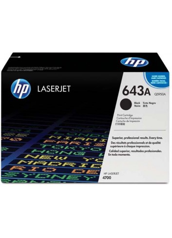HP originál toner Q5950A, black, 11000str., HP 643A, HP Color LaserJet 4700, n, dn, dtn, ph+