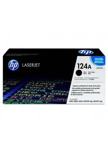HP originál toner Q6000A, black, 2500str., HP 124A, HP Color LaserJet 1600, 2600n, 2605