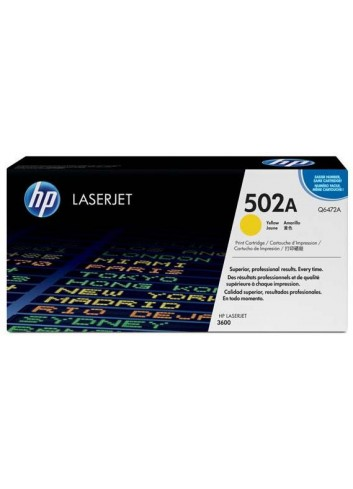 HP originál toner Q6472A, yellow, 4000str., HP 501A, HP Color LaserJet 3600, n, dn, dtn