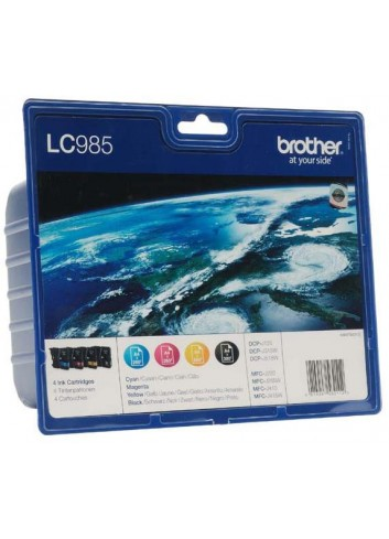 Brother originál ink LC-985VALBP, CMYK, 300str., Brother DCP-J125, J315W, J515W