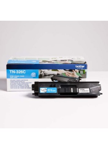 Brother originál toner TN-326C, cyan, 3500str., Brother HL-L8350CDW, DCP-L8400CDN