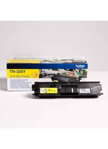 Brother originál toner TN-326Y, yellow, 3500str., Brother HL-L8350CDW, DCP-L8400CDN