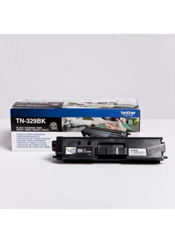 Brother originál toner TN-329BK, black, 6000str., Brother HL-L8350CDW,HL-L9200CDWT