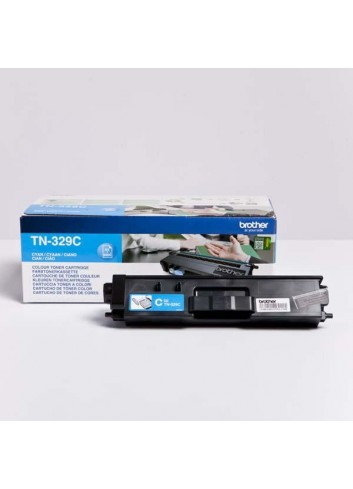 Brother originál toner TN-329C, cyan, 6000str., Brother HL-L8350CDW,HL-L9200CDWT