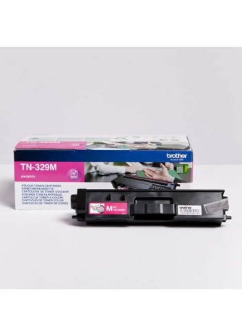 Brother originál toner TN-329M, magenta, 6000str., Brother HL-L8350CDW,HL-L9200CDWT