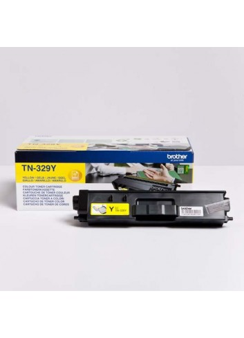 Brother originál toner TN-329Y, yellow, 6000str., Brother HL-L8350CDW,HL-L9200CDWT