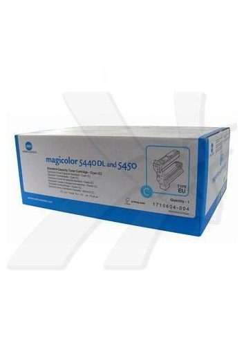 Konica Minolta originál toner 4539334, cyan, 6000str., 1710-6040-04, Konica Minolta QMS Magic Color 5440DL, 5450