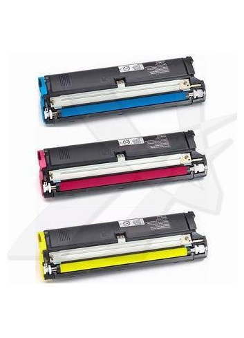Konica Minolta originál toner 4576611, cyan/magenta/yellow, 13500 (3x4500)str., 1710-5411-00, Konica Minolta Magic Color 2300DL