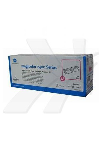 Konica Minolta originál toner A00W232, magenta, 4500str., 1710-5890-06, Konica Minolta Magic Color 2400, 2430, 2450, 2480, 2500,