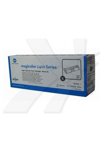 Konica Minolta originál toner A00W432, black, 4500str., 1710-5890-04, Konica Minolta Magic Color 2400, 2430, 2450, 2480, 2500, 2