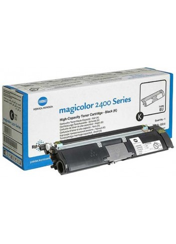 Konica Minolta originál toner A00W432, black, 4500str., 1710-5890-04, s hologramom, Konica Minolta Magic Color 2400, 2430, 2450,
