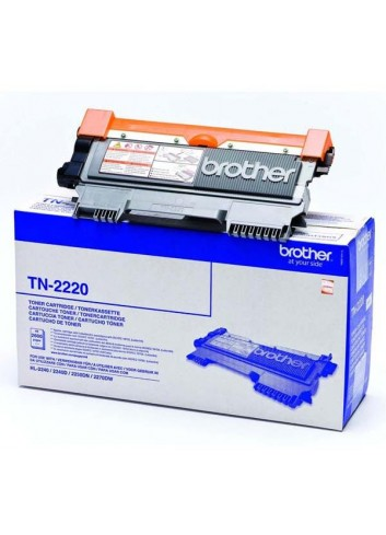 Brother originál toner TN2220, black, 2600str., Brother HL-2240D, 2250DN
