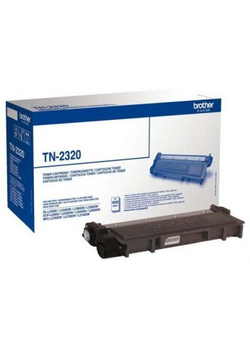 Brother originál toner TN2320, black, 2600str., Brother DCP-L25xx, MFC-L27xx