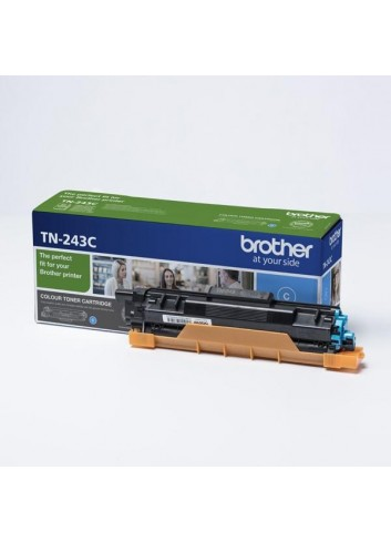 Brother originál toner TN243C, cyan, 1000str., Brother DCP-L3500, MFC-L3730, MFC-L3740, MFC-L3750