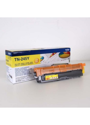 Brother originál toner TN245Y, yellow, 2200str., Brother HL-3140CW, 3170CW