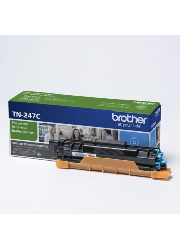 Brother originál toner TN247C, cyan, 2300str., Brother DCP-L3510CDW, DCP-L3550CDW, HL-L3210CW,HL-L3270CDW