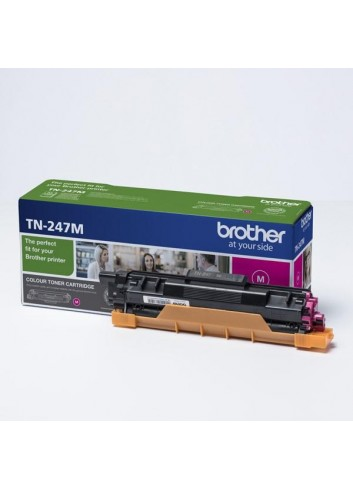 Brother originál toner TN247M, magenta, 2300str., Brother DCP-L3510CDW, DCP-L3550CDW, HL-L3210CW,HL-L3270CDW