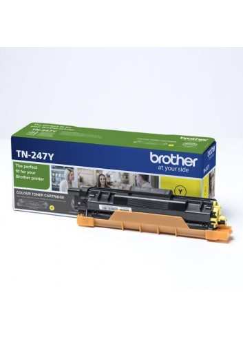 Brother originál toner TN247Y, yellow, 2300str., Brother DCP-L3510CDW, DCP-L3550CDW, HL-L3210CW,HL-L3270CDW