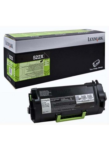 Lexmark originál toner 52D2X00, black, 45000str., return, extra high capacity, Lexmark MS811/812