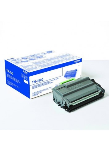 Brother originál toner TN3520, black, 20000str., Brother HL-L6400DW
