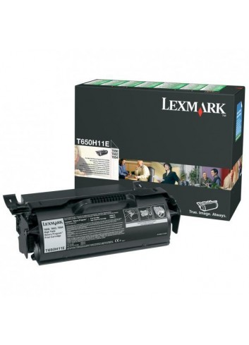 Lexmark originál toner T650H11E, black, 25000str., return, high capacity, Lexmark T650DN