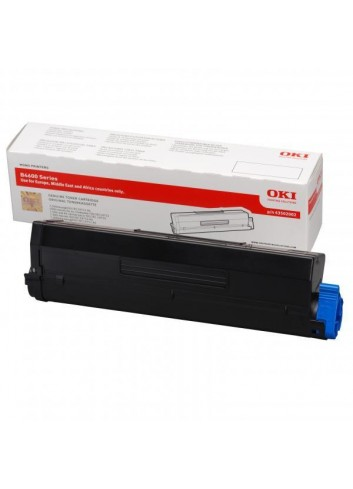 OKI originál toner 43502002, black, 7000str., OKI 4600, n, PS, nPS