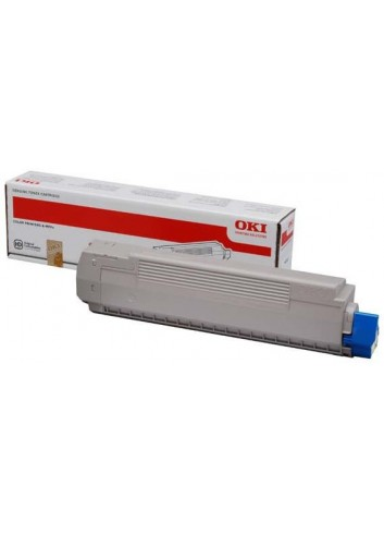 OKI originál toner 44059253, yellow, 10000str., OKI MC861