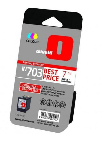 Olivetti originál ink B0632, color, 7ml, Olivetti Olivetti Linea Office/Olivetti Linea Office Wifi