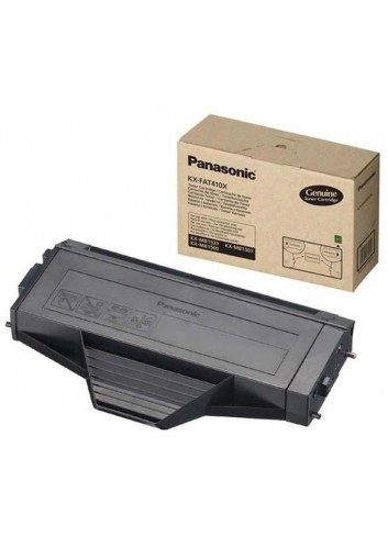 Panasonic originál toner KX-FAT410E/X, black, 2500str., Panasonic KX-MB1500,1520,1530