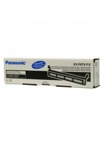 Panasonic originál toner KX-FAT411E, black, 2000str., Panasonic KX-MB2000, 2010, 2025, 2030, 2061