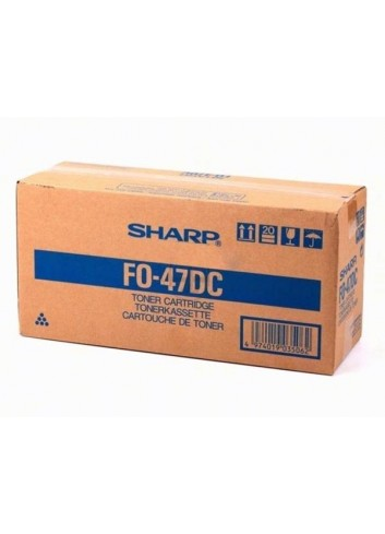Sharp originál toner FO47DC, black, 8000str., Sharp FO47DC, FO4700, FO5700