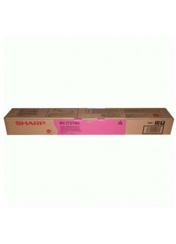 Sharp originál toner MX-27GTMA, magenta, 15000str., Sharp MX-4500N