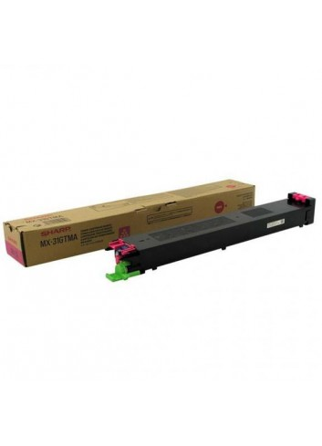 Sharp originál toner MX-31GTMA, magenta, 15000str., Sharp MX 2301N, 2600N, 3100N, 4100N, 4101N, 5000N, 5001N