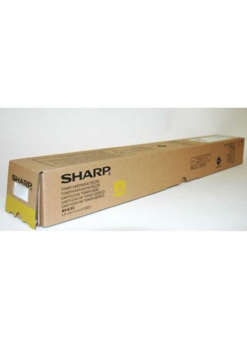 Sharp originál toner MX-62GTYA, yellow, 40000str., Sharp MX-6240N, 7040N