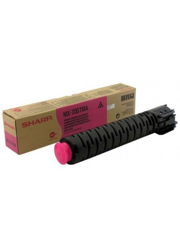Sharp originál toner MX-70GTMA, magenta, 32000str., Sharp MX-5500N, 6200N, 7000N