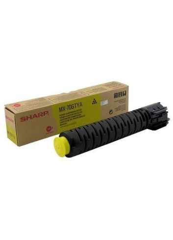 Sharp originál toner MX-70GTYA, yellow, 32000str., Sharp MX-5500N, 6200N, 7000N
